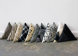 Triangular cushions